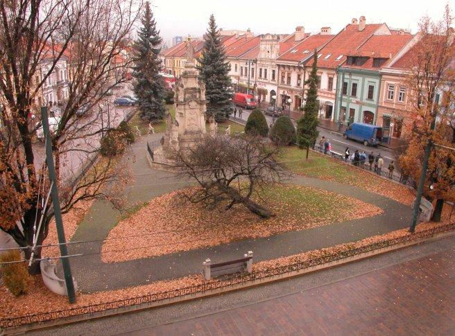 Prešov Hlavná - Severný park a 49. rovnobežka