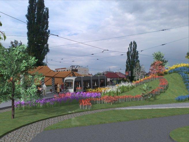 Zastávka Botanická záhrada