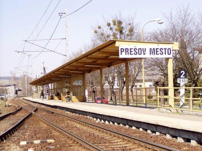 Zastávka: Prešov mesto