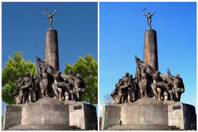 Pamätník sedliackého povstania Haniska - Furča