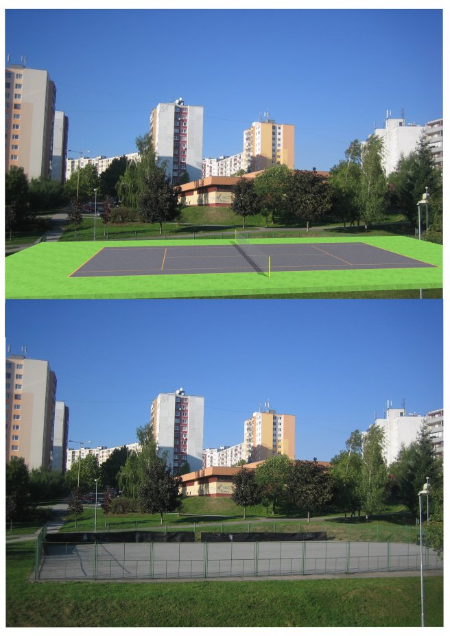 tenisovy kurt