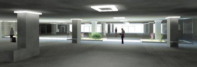 Interiér - Železničná stanica, podchod - Prešov
