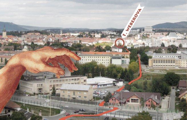 Spojenie mesta a kalvárie